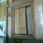 Oven korjaustyö - ennen