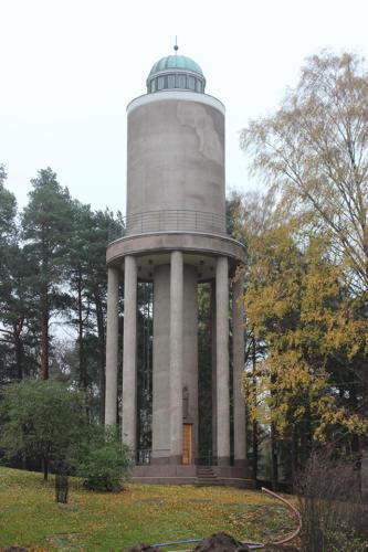 Malmin vesitorni paikkarappaustyö